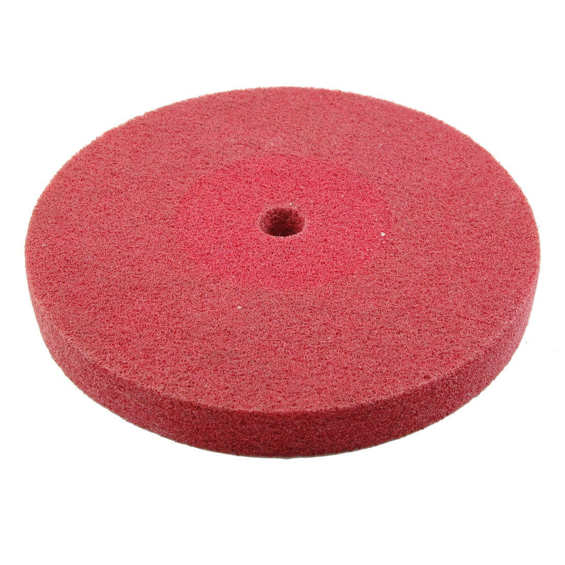 203mm Dia Nylon Abrasive Grinding Polishing Buffing Wheel Red