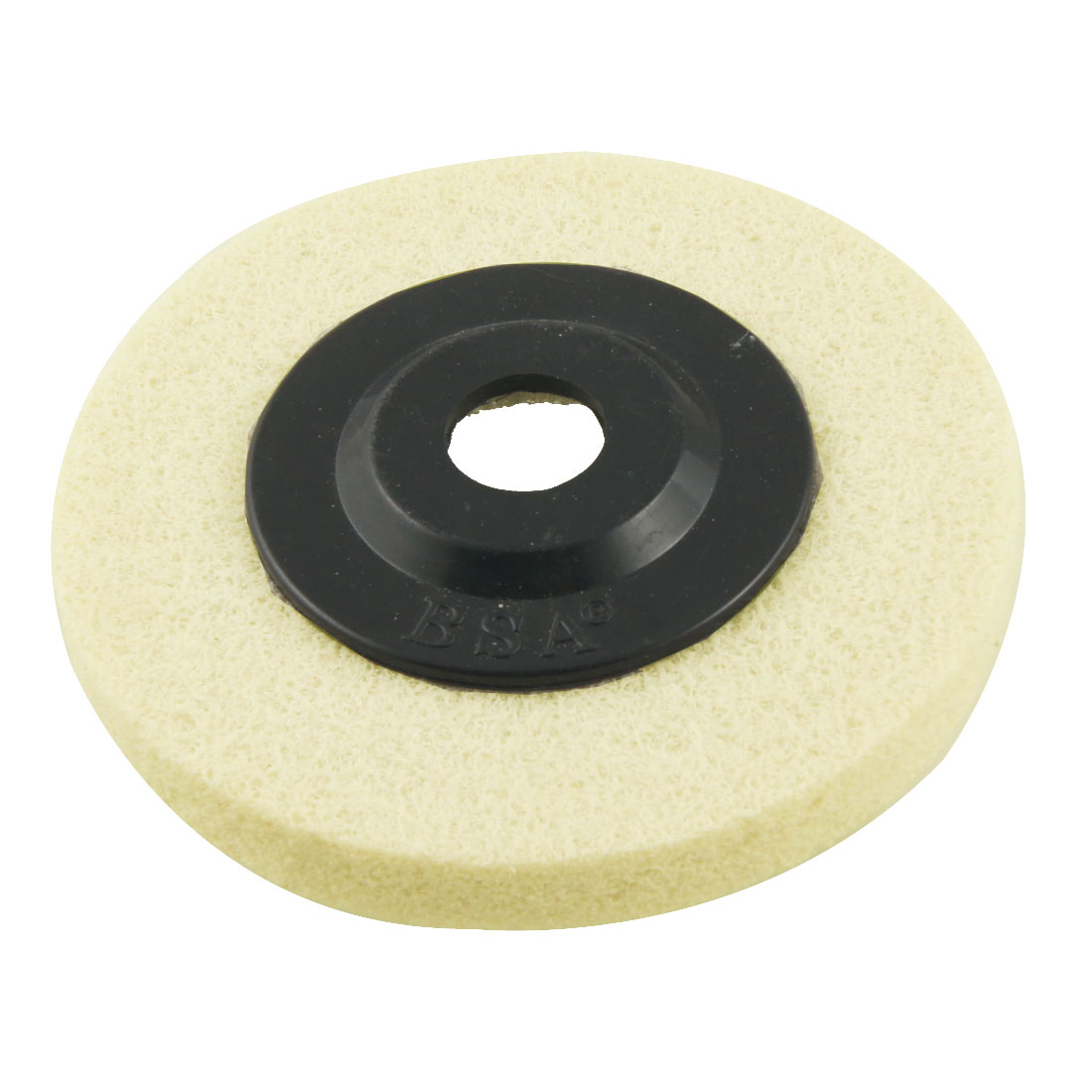 "Plastic Lid 4"" Outside Dia Nylon Polishing Metal Grinding Wheel White"