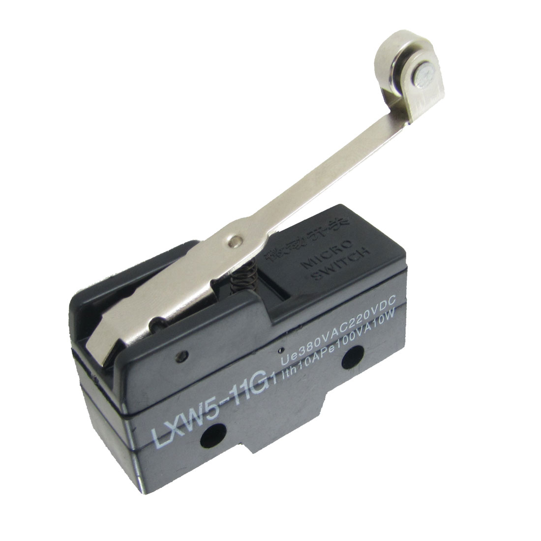 "2.6"" Long Roller Lever Basic Micro Limit Switch LXW5-11G"