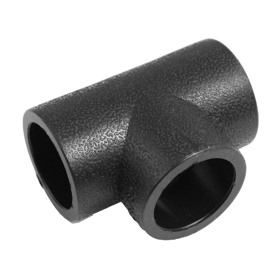 32mm Inside Diameter Three Way HDPE Pipe Tee Connector Black