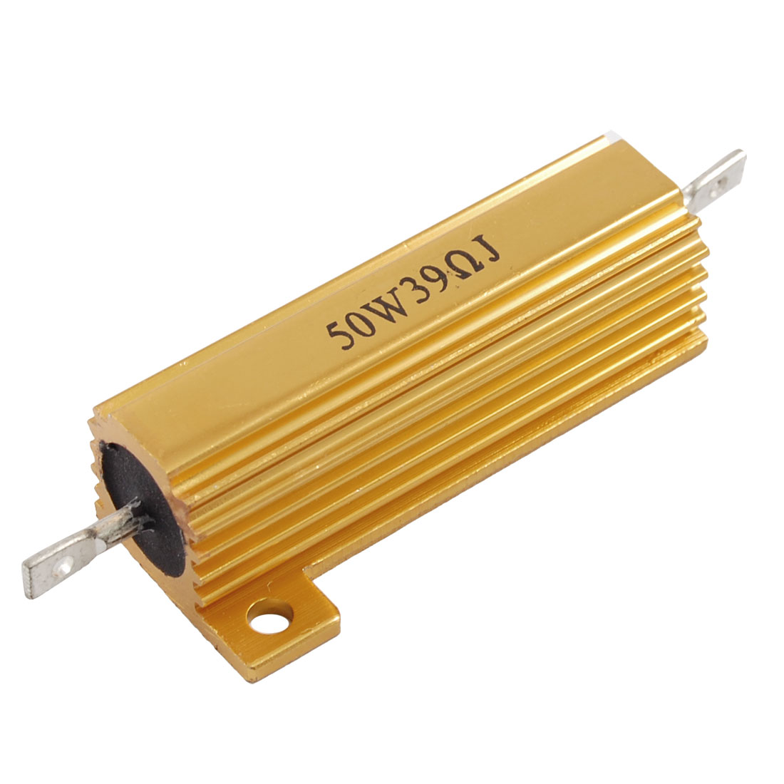 Chasis Mounted 50W 39 Ohm 5% Aluminum Case Wirewound Resistor