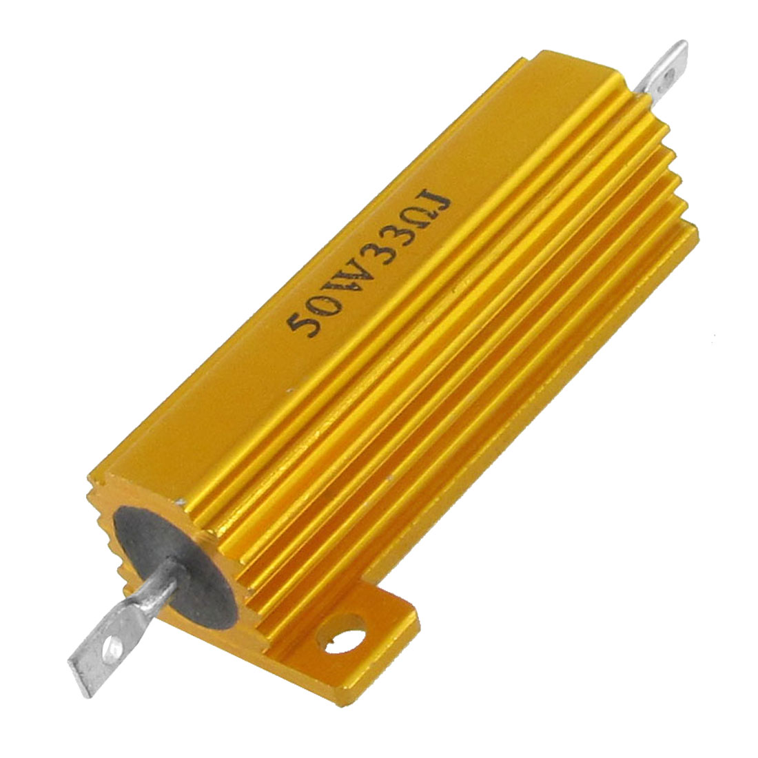 Gold Tone 50W 33 Ohm Aluminum Housed Wirewound Power Resistor