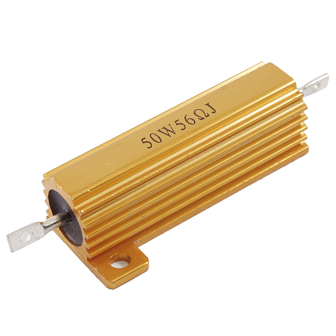 Chassis Mounted 50W 56 Ohm 5% Aluminum Case Wirewound Resistor Ozrts