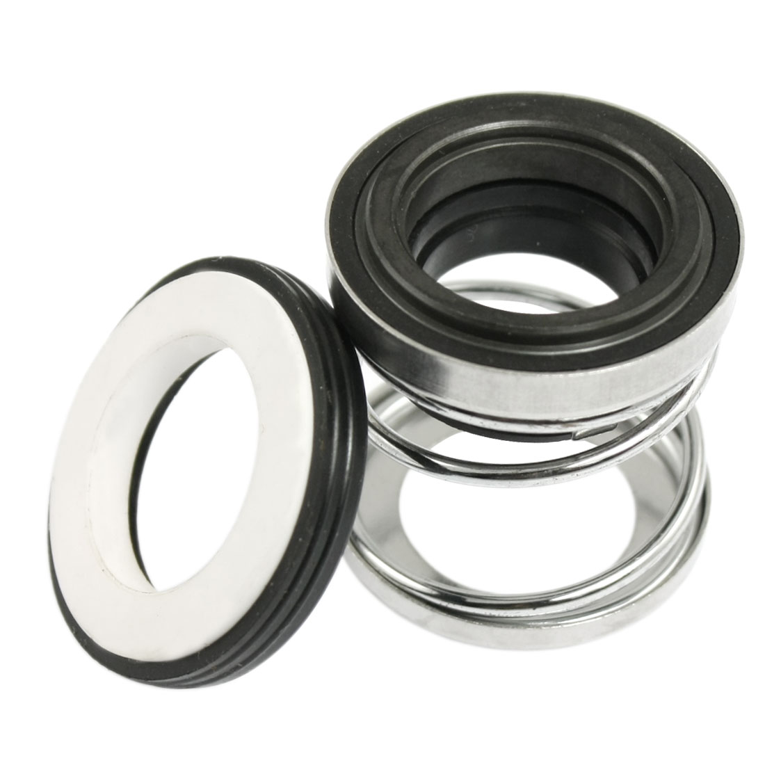 2 Pcs 108-19 19mm Dia. Rubber Bellow Mechanical Seal for Pump Shaft