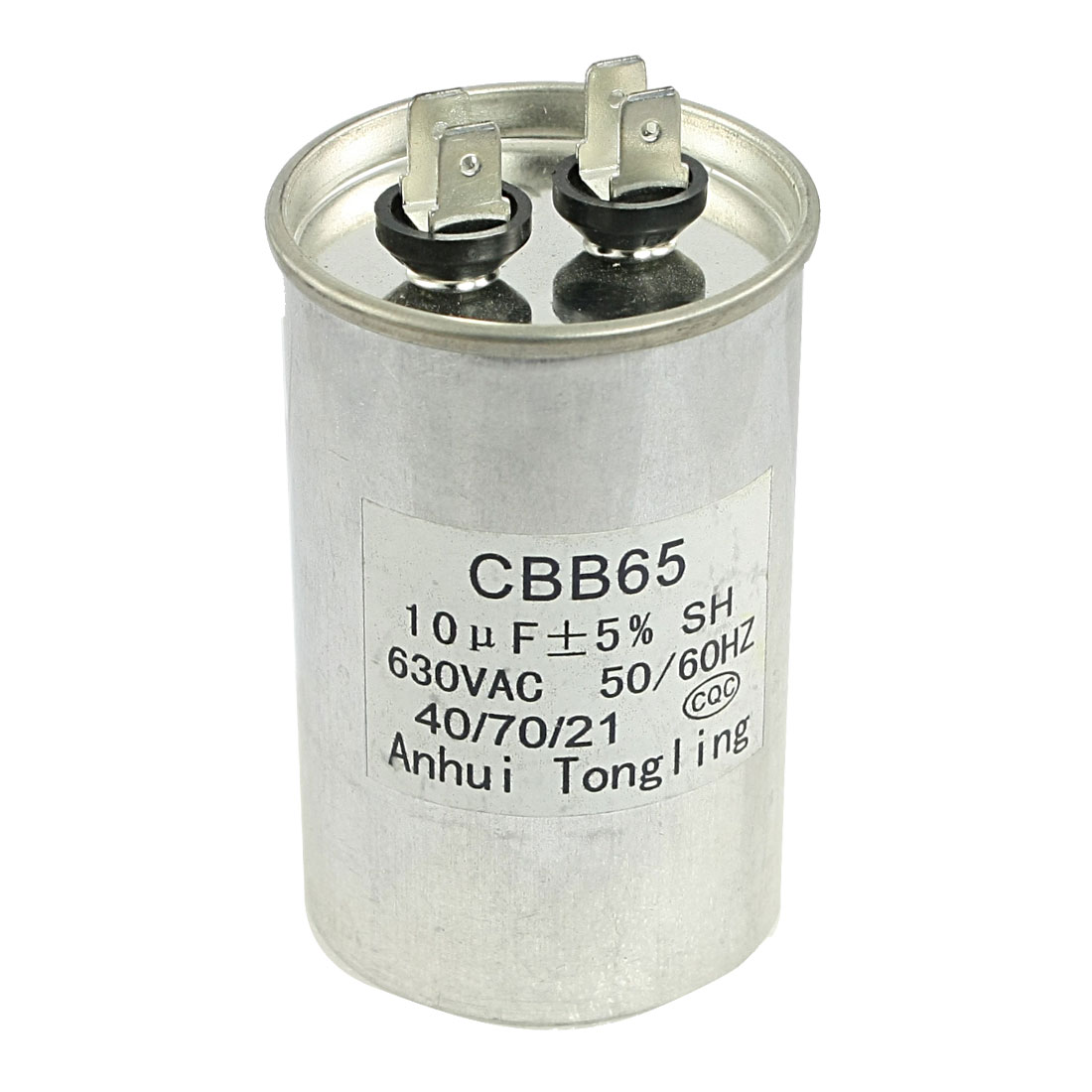 CBB65 AC 630V 10uF Thread Type Capacitance Motor Running Capacitor