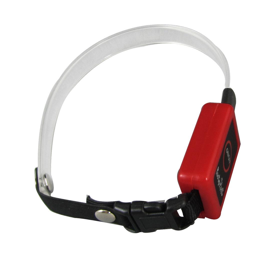 31cm Length Amazing Flashing Red LED Dog Pet ABS Safety Collar