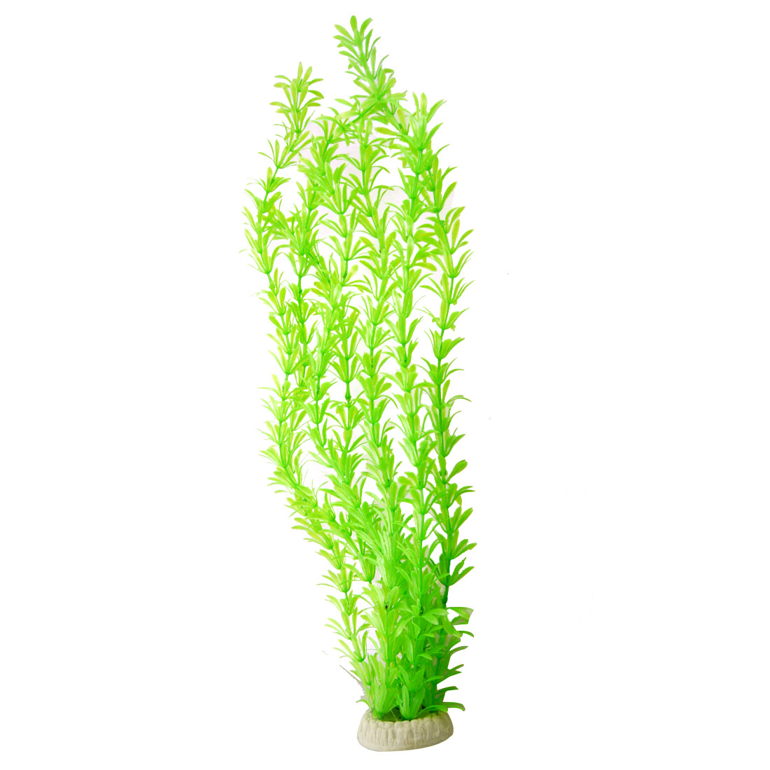 """20.5"""" Green Plastic Artificial Aquatic Grass Plant for Aquarium Tank"""