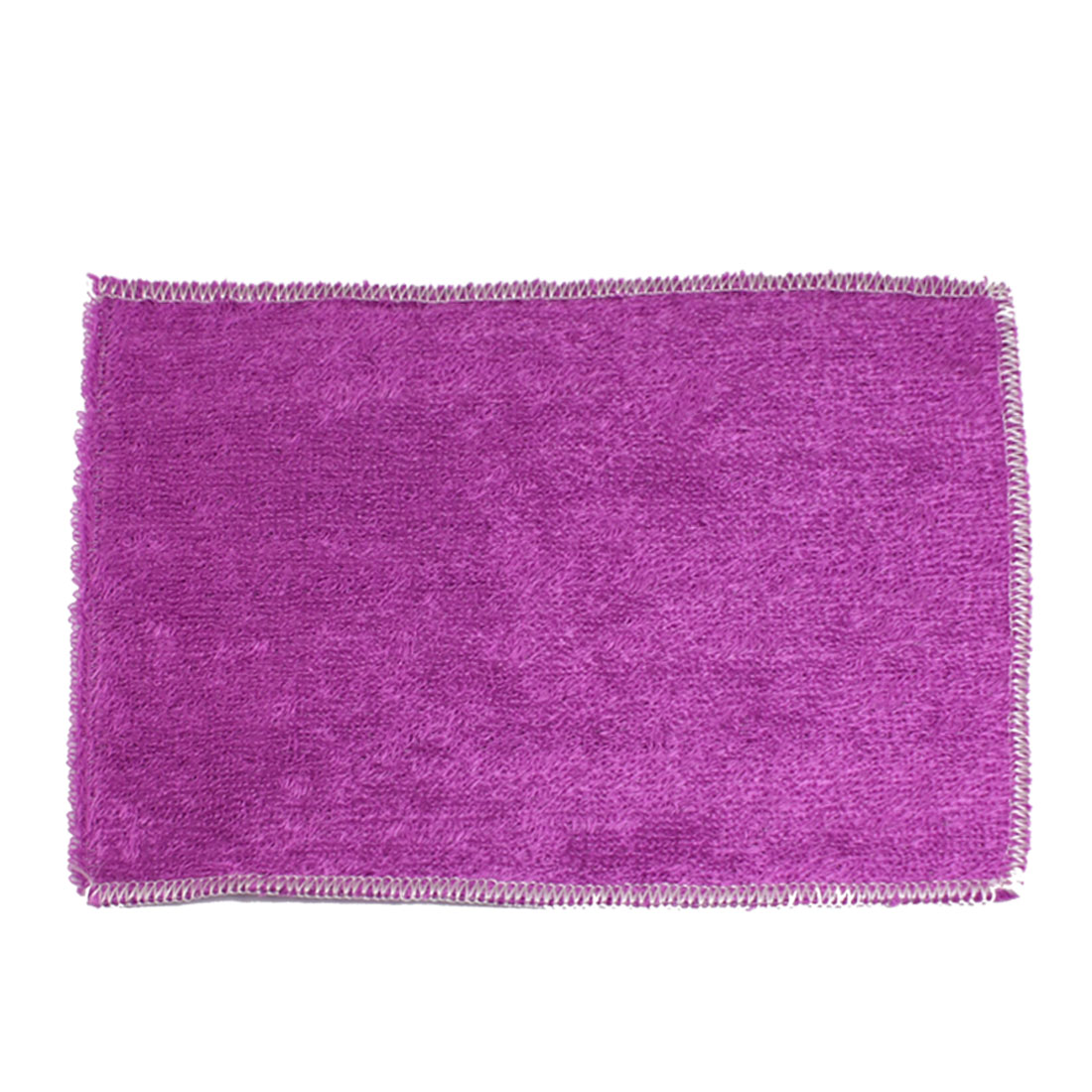 "Kitchen Clean Towel Purple Bamboo Fiber Dish Washcloth 9"" x 8"""