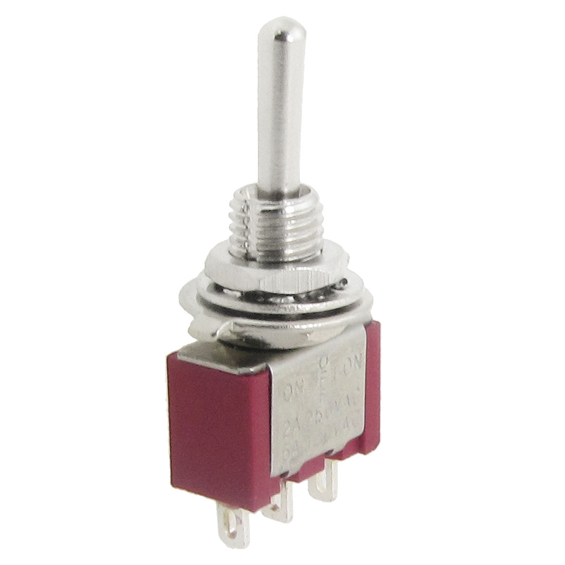 AC 250V 2A 120V 5A SPDT On/Off/On 3 Position Momentary Toggle Switch