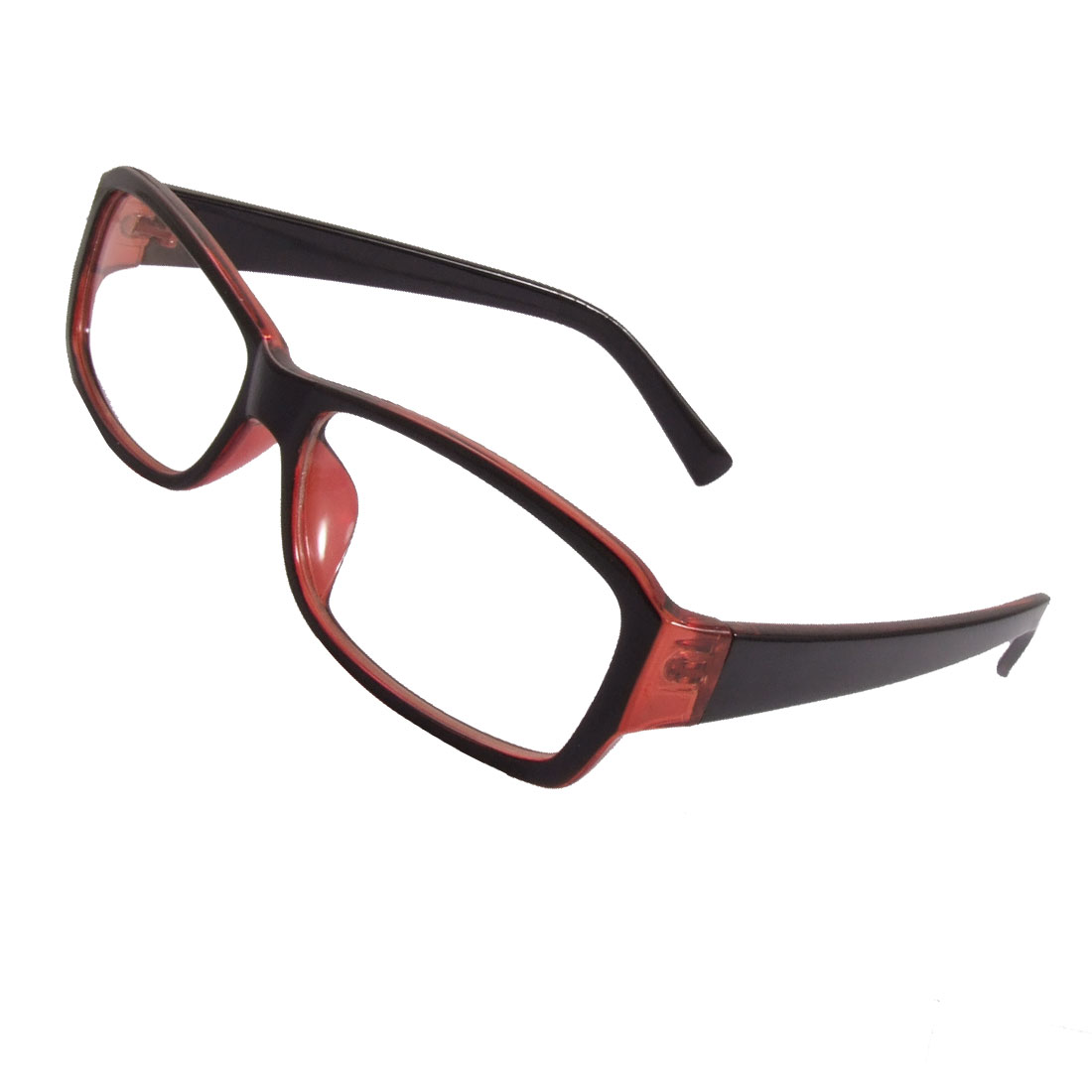 Burgundy Arms Full Frame Multi Coated Lens Plain Glasses Eyeglasses