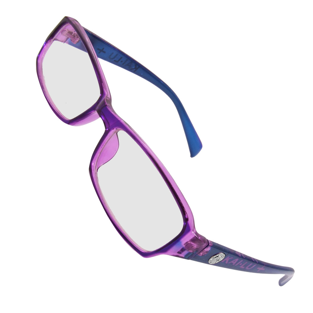 Lady Purple Full Frame Multi Coated Lens Plain Glass Eyeglasses