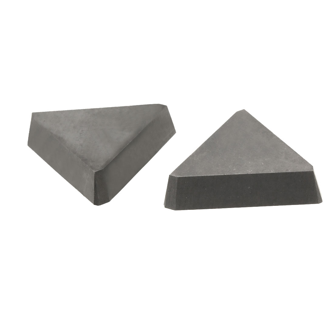 2 Pcs Triangular Hard Alloy Cemented Carbide Inserts Cutting Tool