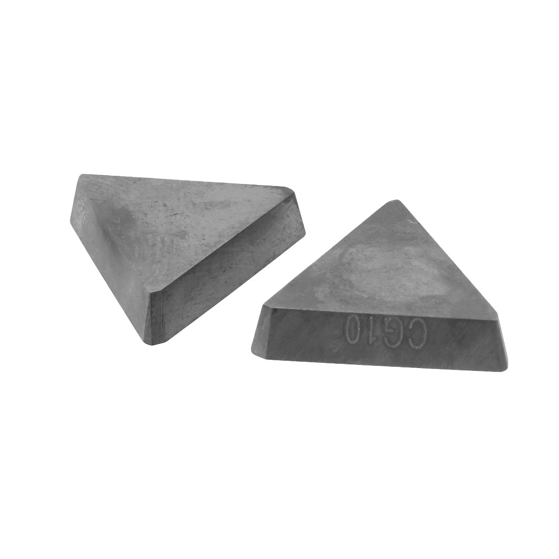 2 Pcs Welding Blade Tungsten Cemented Carbide Inserts for Turning-lathe