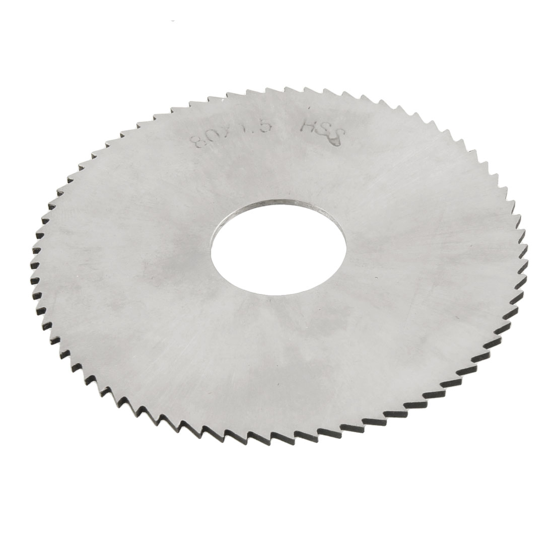 80mm OD 1.5mm Thick 72T HSS Circular Slitting Saw Cutter