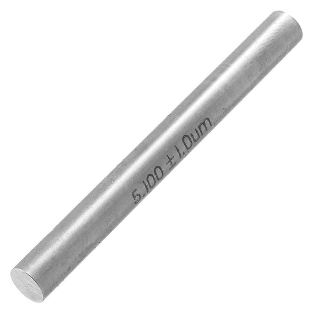 Industry 5.1mm Diameter 50mm Long Pin Gage Gauge w Clear Box