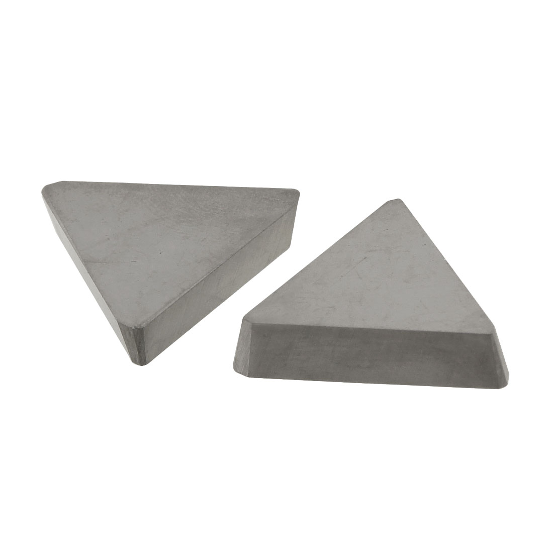 2 Pcs Welding Blade Triangular Hard Alloy Cemented Carbide Inserts for Turning-lathe