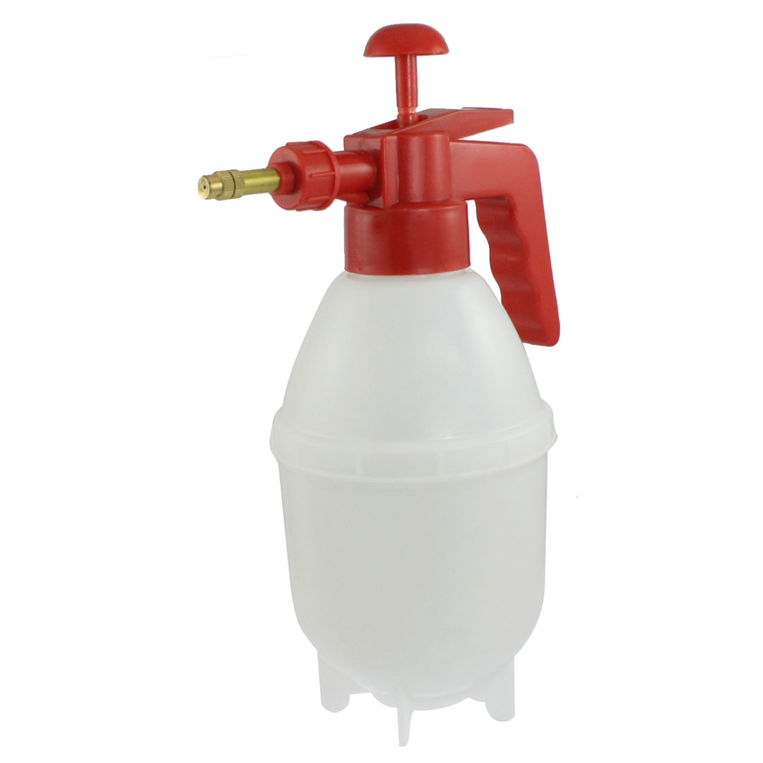 Plastic Handheld Pump Pressurized Water Spray Bottle Glass Cleaner Sprayer White