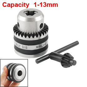 1-13mm Capacity B16 Mount Electric Key Type Drill Chuck