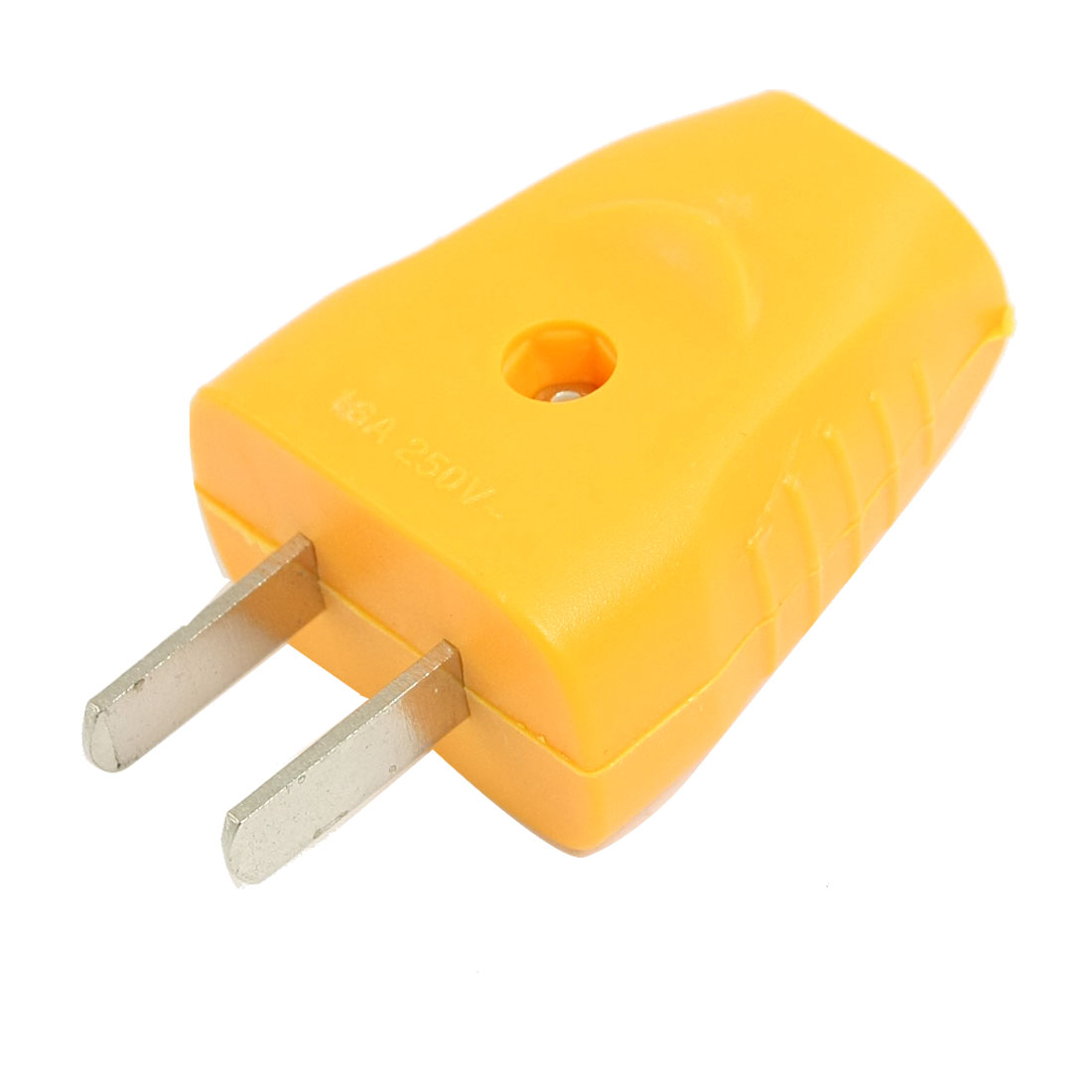 US Plug AC 250V 16A Power Jack Adapter Yellow