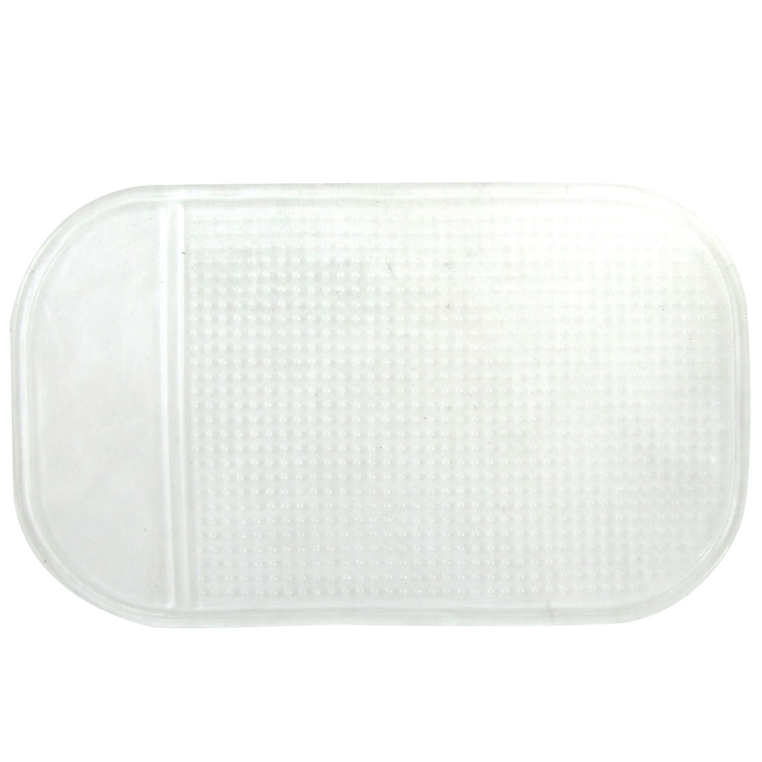 Car Phone Mp4 Sticky Holder Nonslip Mat Pad Clear White 2 Pcs