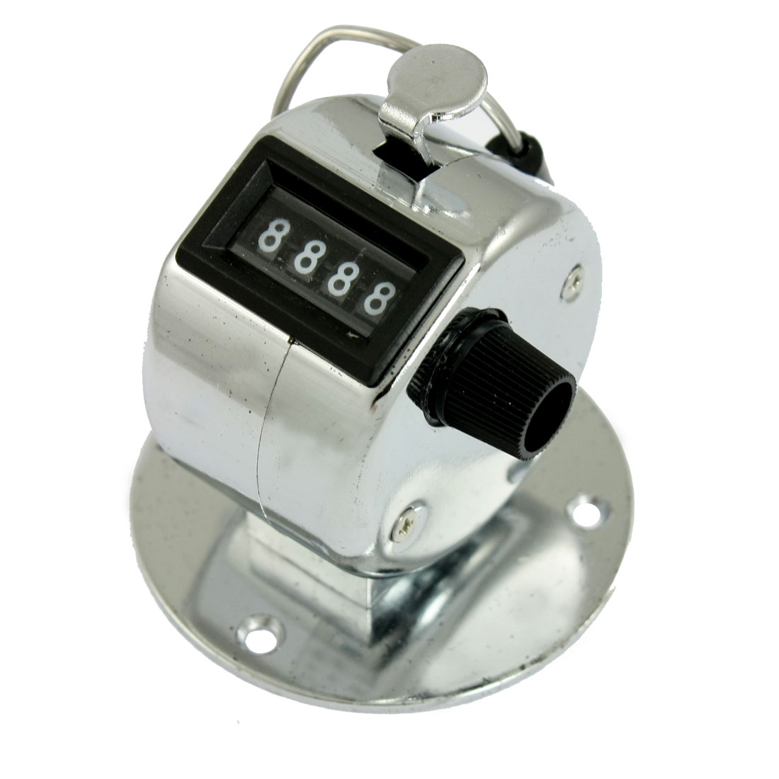 Metal 4 Digits Number Clicker Hand Tally Counter for Golf Sport