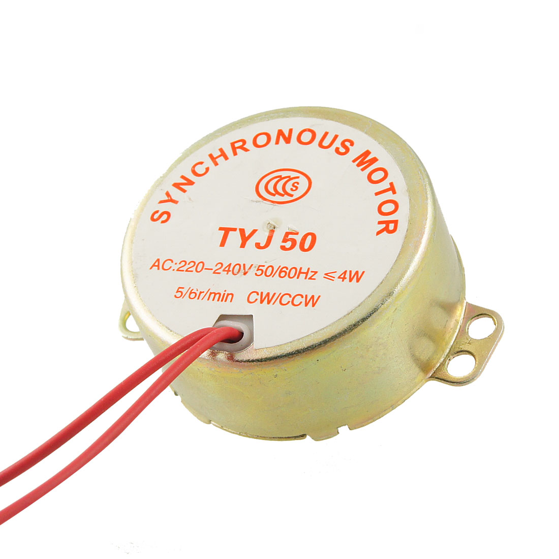 Microwave Oven Synchronous Motor 5/6RPM AC 220-240V 50/60Hz CW/CCW