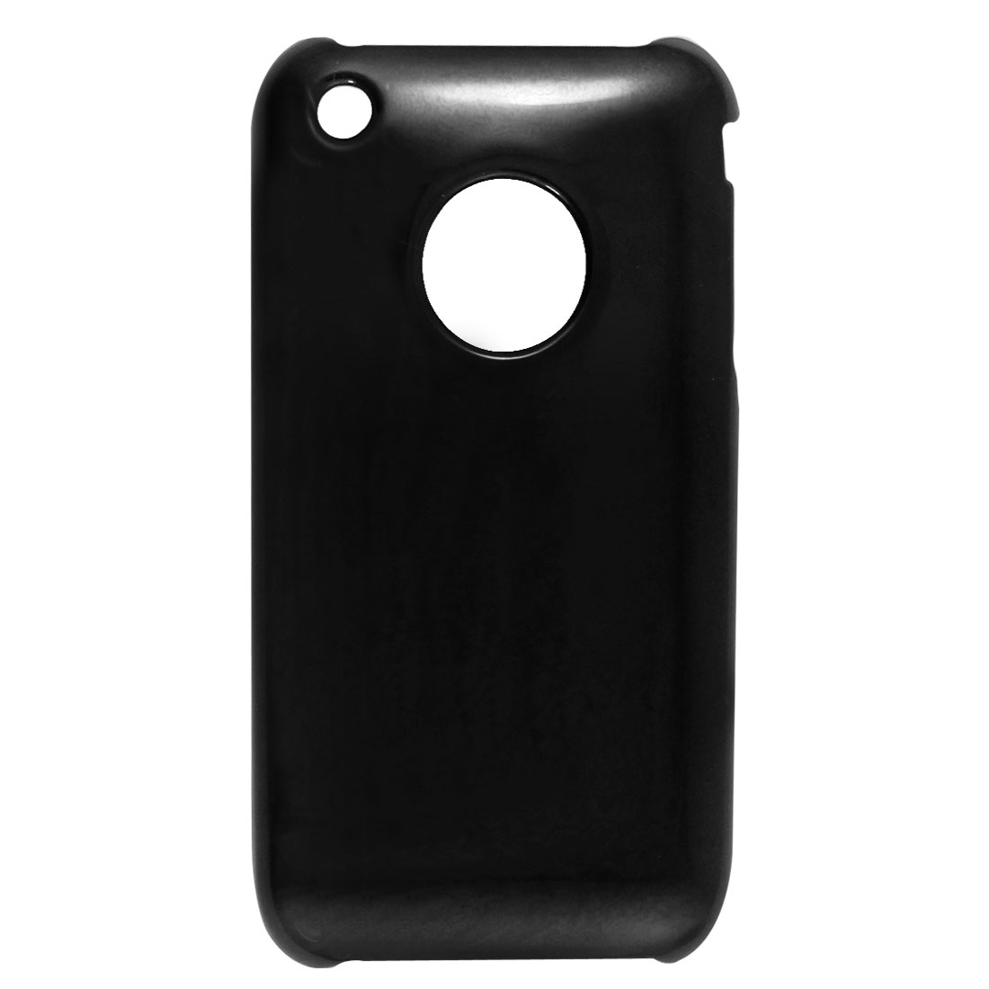 Hard Plastic Protector Case Black for Apple iPhone 3G