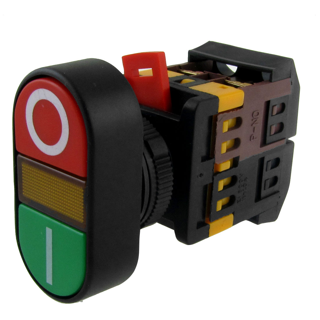ON-OFF START STOP Push Button w Light Indicator Momentary Switch Red Green Power