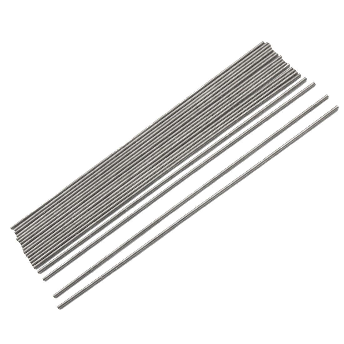 1.1mm Dia High Speed Steel Round Lathe Turning Tool Bar 20 Pcs