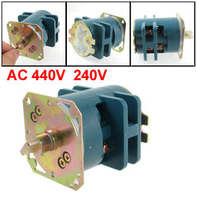 AC 440V 240V ON/OFF 2 Position Rotary Changeover Switch