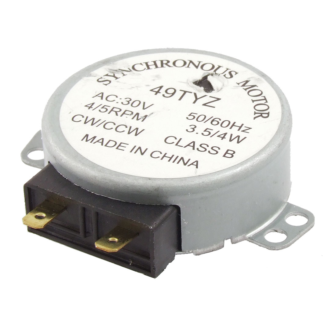 AC 30V 3.5/4W 4/5RPM Synchronous Motor for Microwave Oven