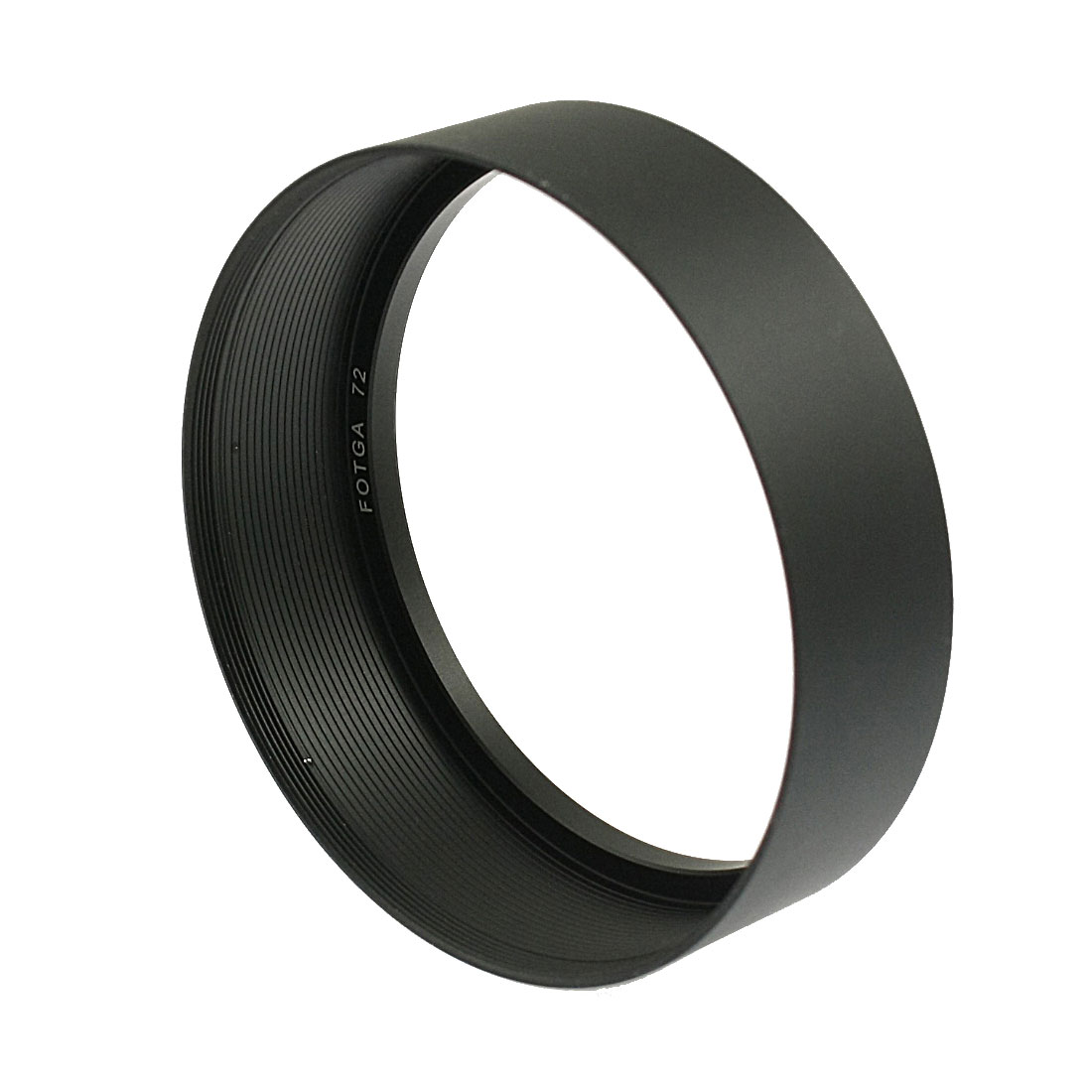 Filter Screw Mount 72mm Metal Lens Hood for Digital Camera