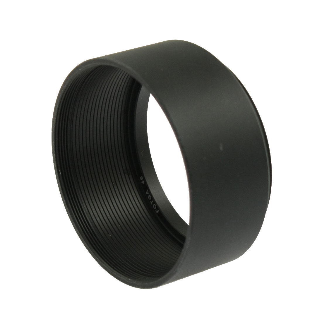 Filter Screw Mount 46mm Metal Lens Hood for Camera
