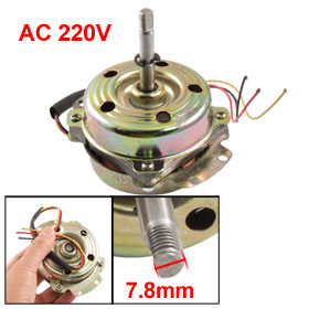 "AC 220V 38W 3 Cable 2 3/4"" Dia Micro Motor for Exhaust Fan"