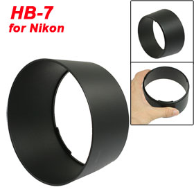 HB-7 Black Lens Hood for Nikon Nikon AF 80-200mm ED F2.8D