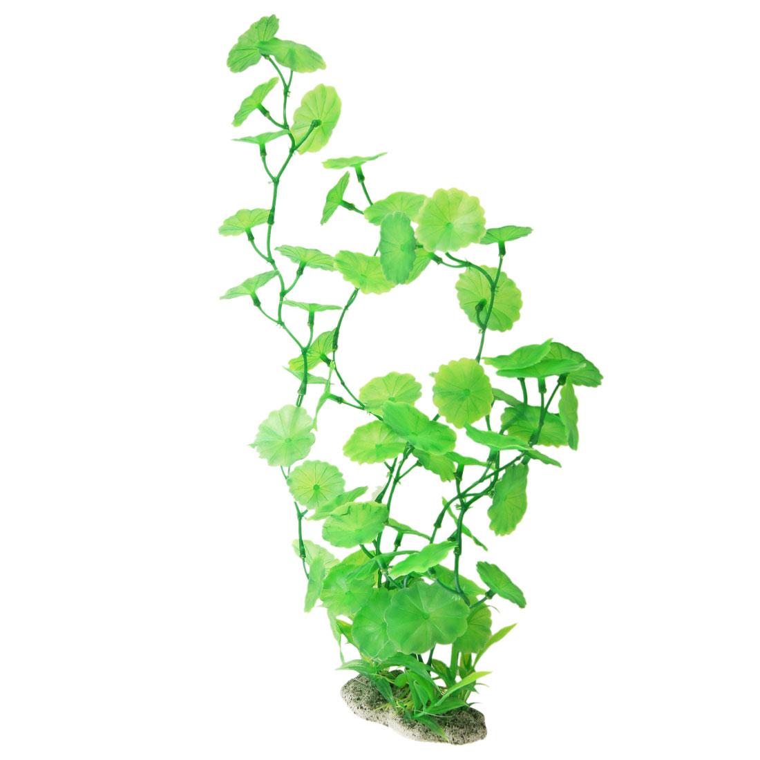 """11.8"""" Green Emulational Plastic Aquatic Plants for Aquarium Tank"""