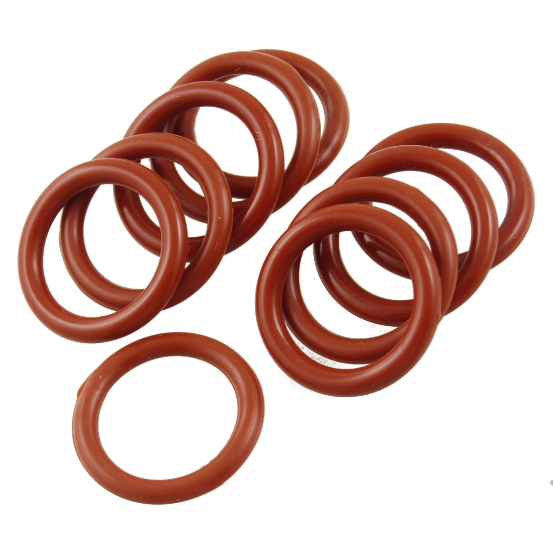 10 Pcs Silicone O Ring Seal Sealing Washer 16mm x 22mm x 3mm