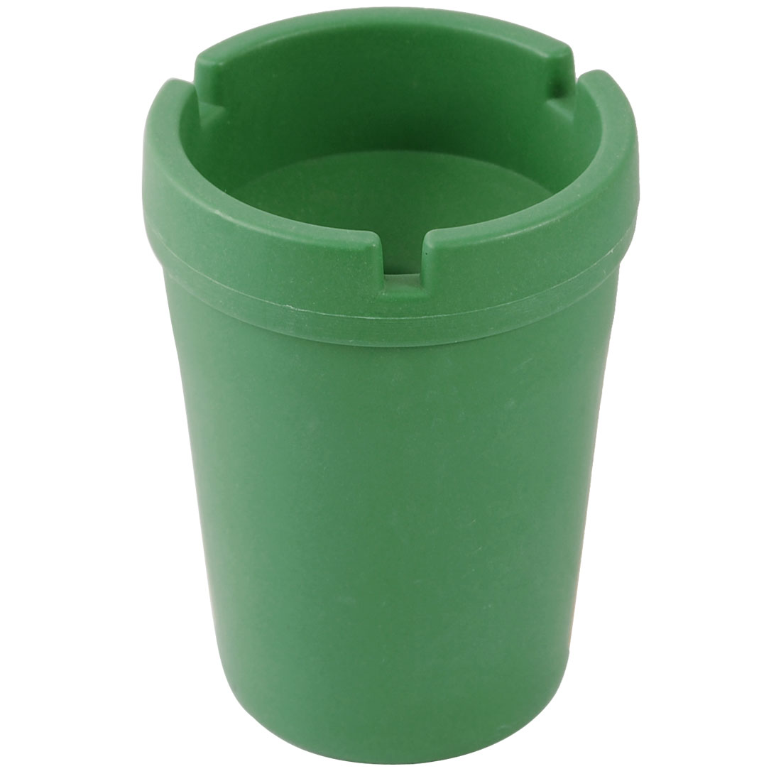 Green Plastic Jumbo Butt Bucket Cigarette Holder Car Ashtray