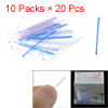 10 Packs Colorful Decoration Plastic Ear Sticks Earrings