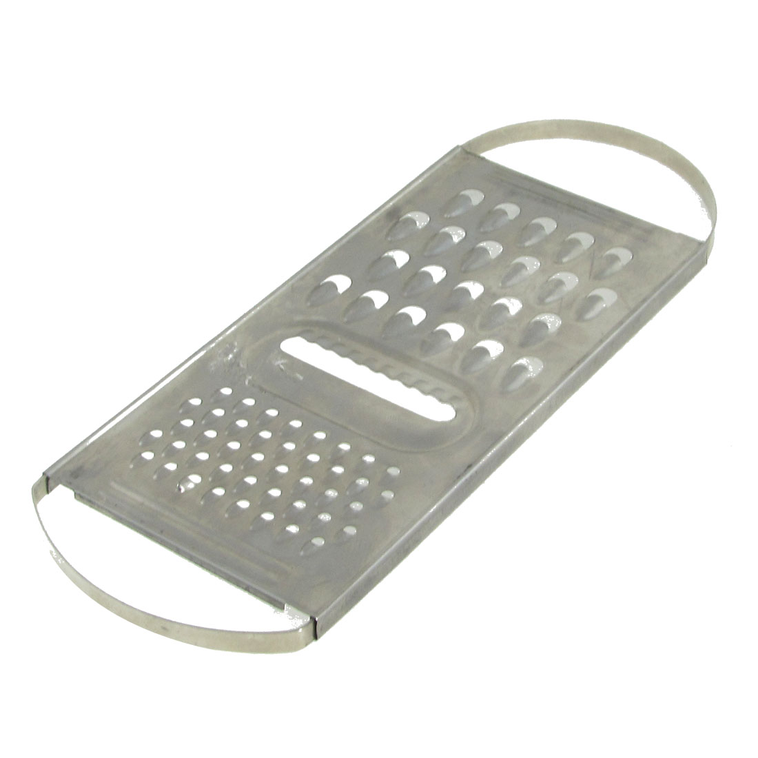 Vegetable Combo Metal Shreds Grater Kitchen Cutter Silver Tone