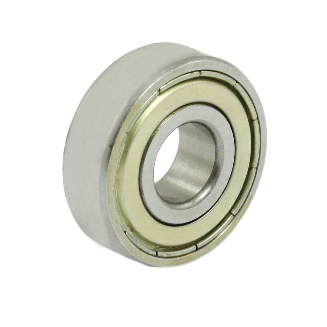 6201E 12mm x 32mm x 10mm Double Shielded Deep Groove Wheel Ball Bearing