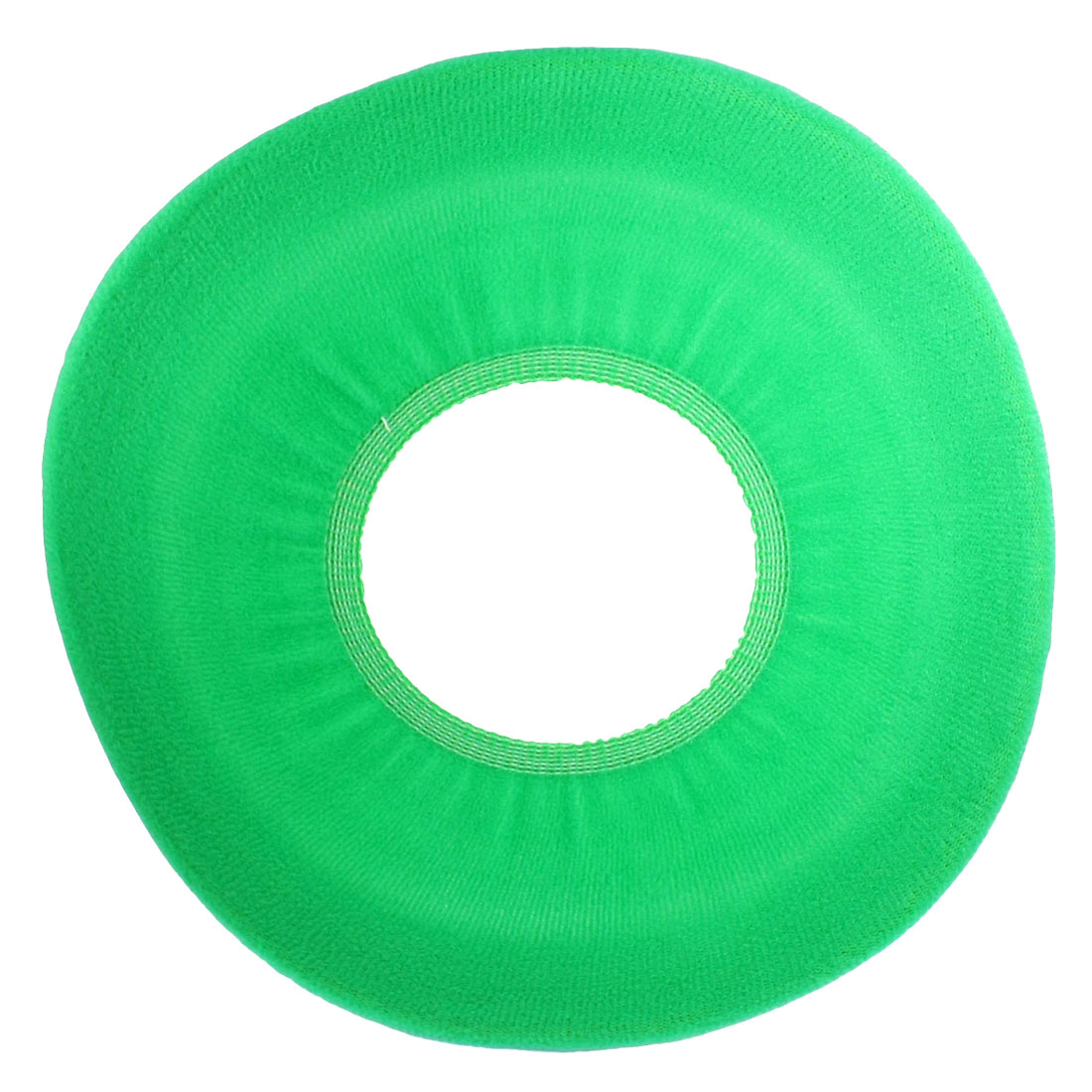 Green Bathroom Toilet Round Cloth Seat Lid Cover Pads Warmer