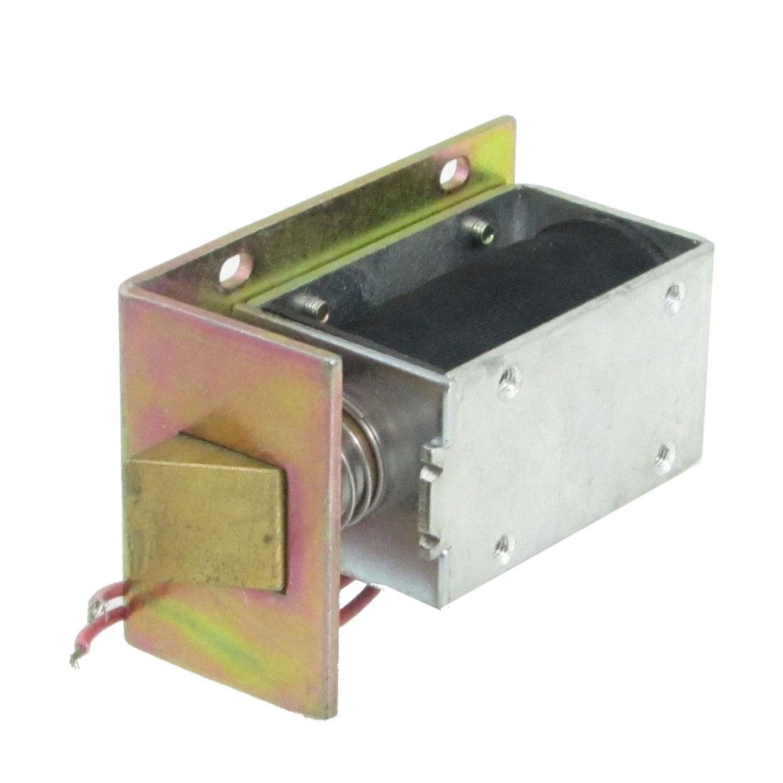 DC 12V 0.83A 5mm 0.6Kg Open Frame Type Solenoid for Electric Door Lock