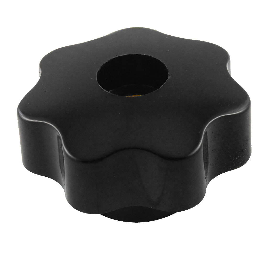 "40mm 1.57"" Diameter Black Star Head Screw On Clamping Knob"