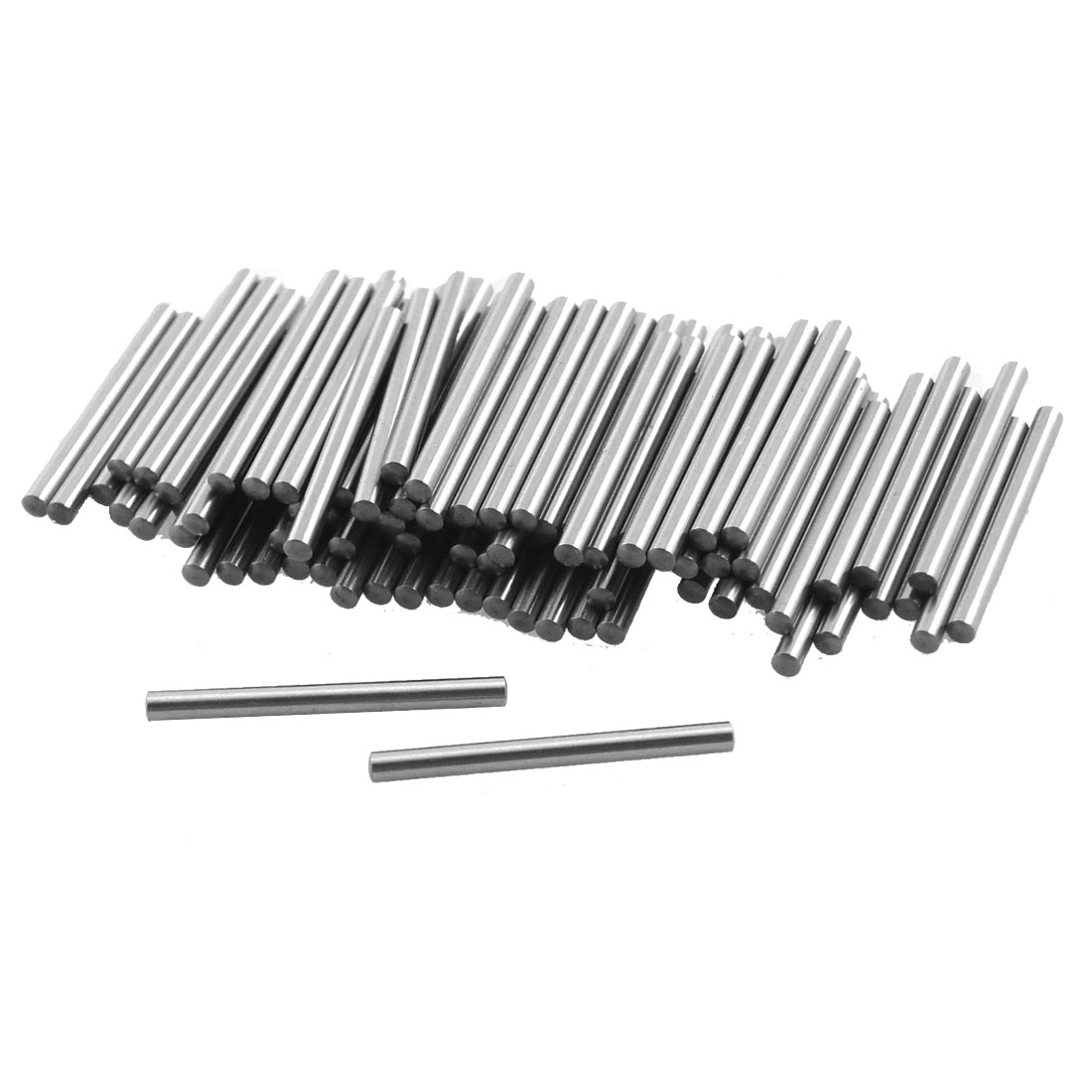 100 Pcs Stainless Steel 1.35mm x 15.8mm Cylinder Dowel Pins Fasten Elements