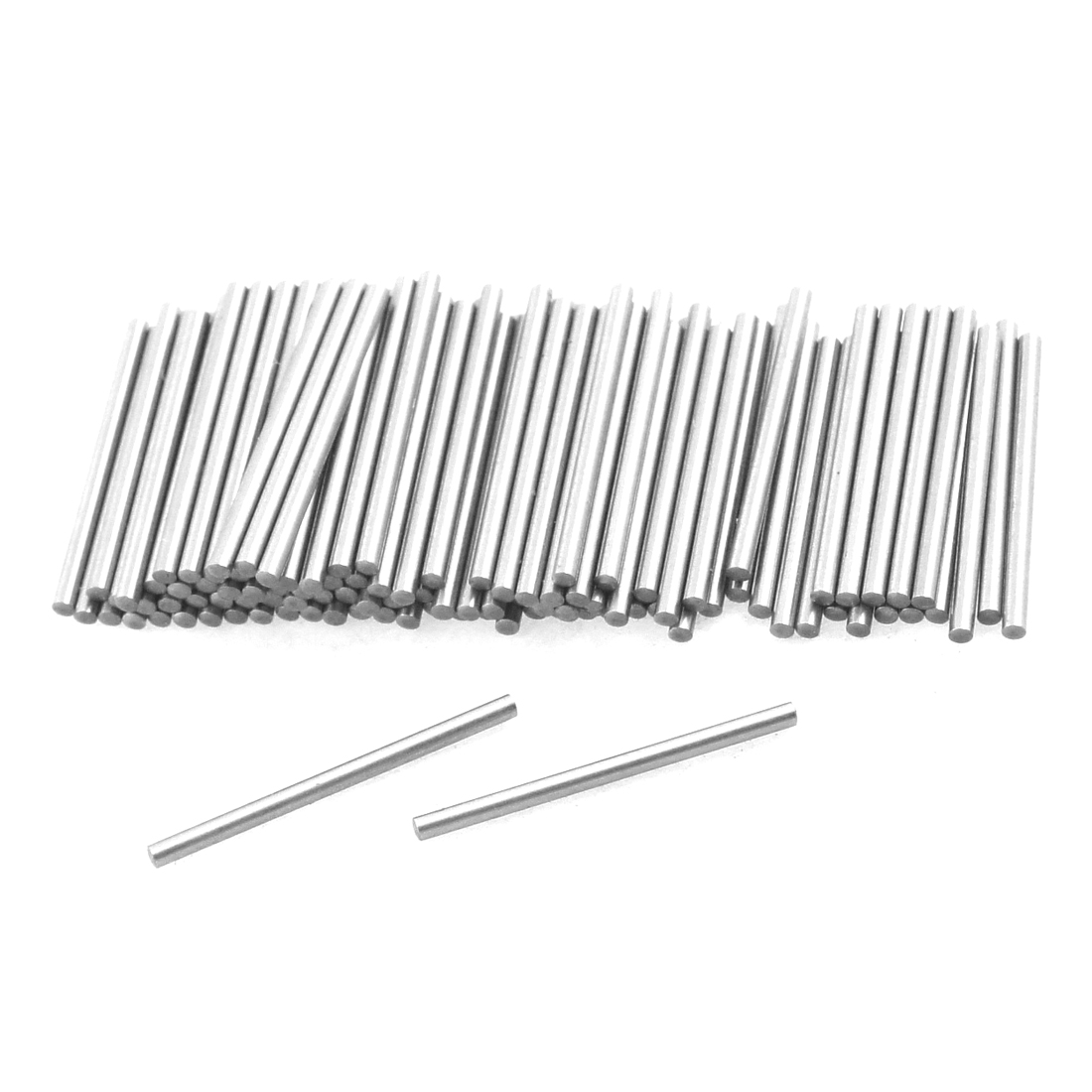 100 Pcs Stainless Steel 1mm x 15.8mm Dowel Pins Fasten Elements