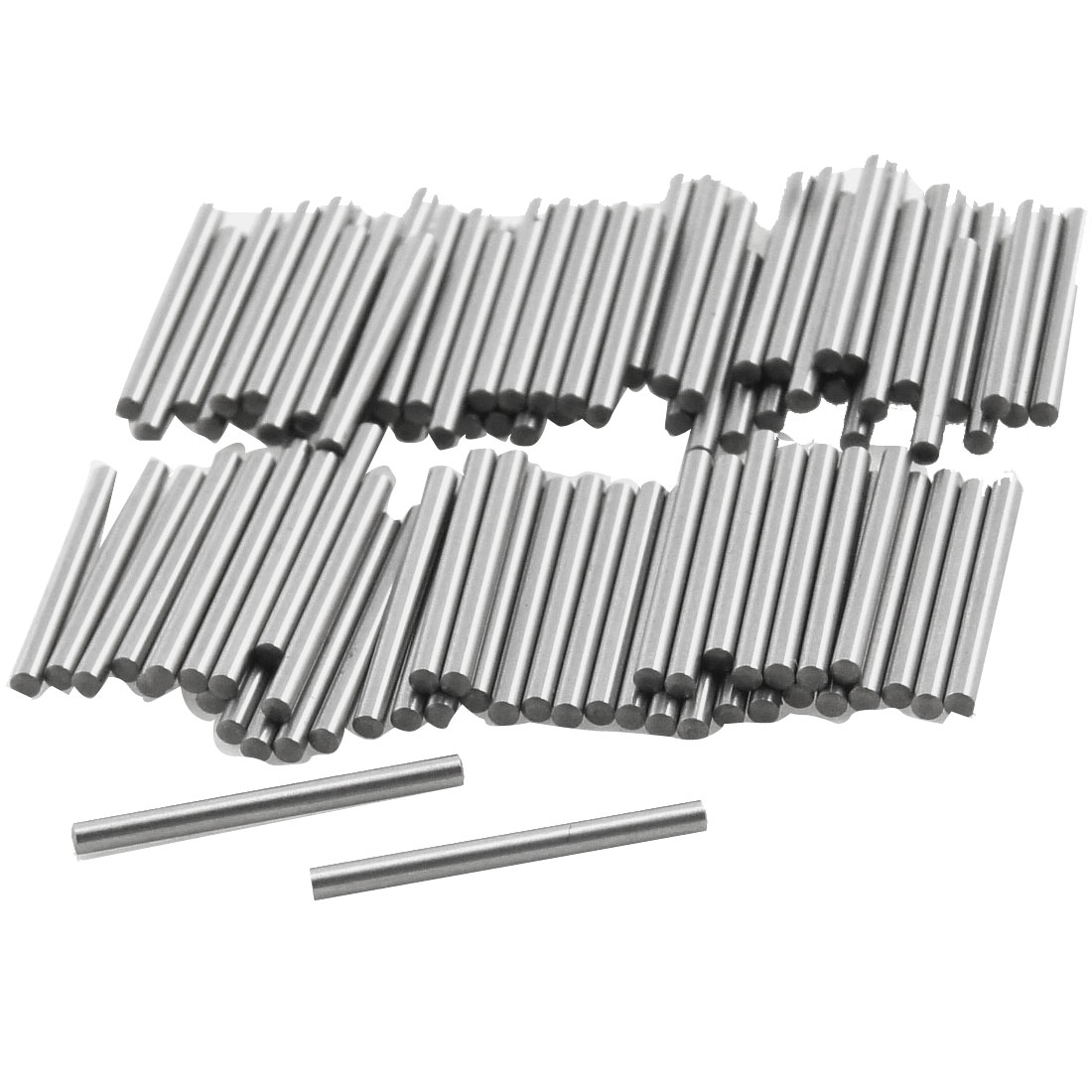 100 Pcs Metal 1.3mm x 15.8mm Dowel Pins Fasten Elements