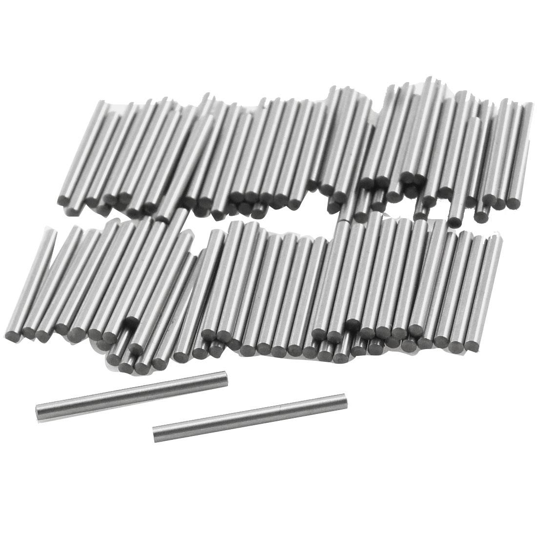 100 Pcs Metal 1.3mm x 15.8mm Dowel Pins Fasten Elements