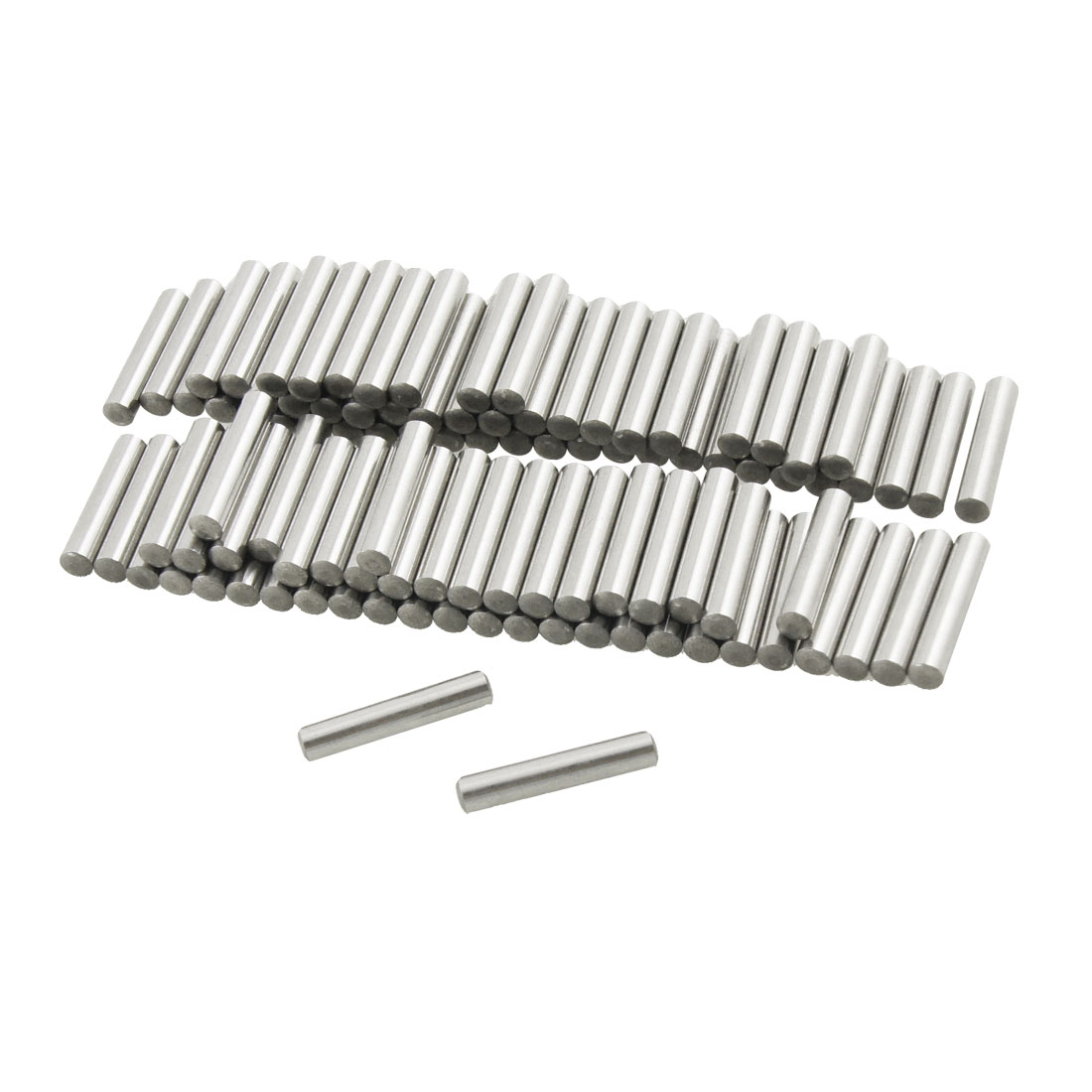 100 Pcs Stainless Steel 2.65mm x 15.8mm Dowel Pins Fasten Elements