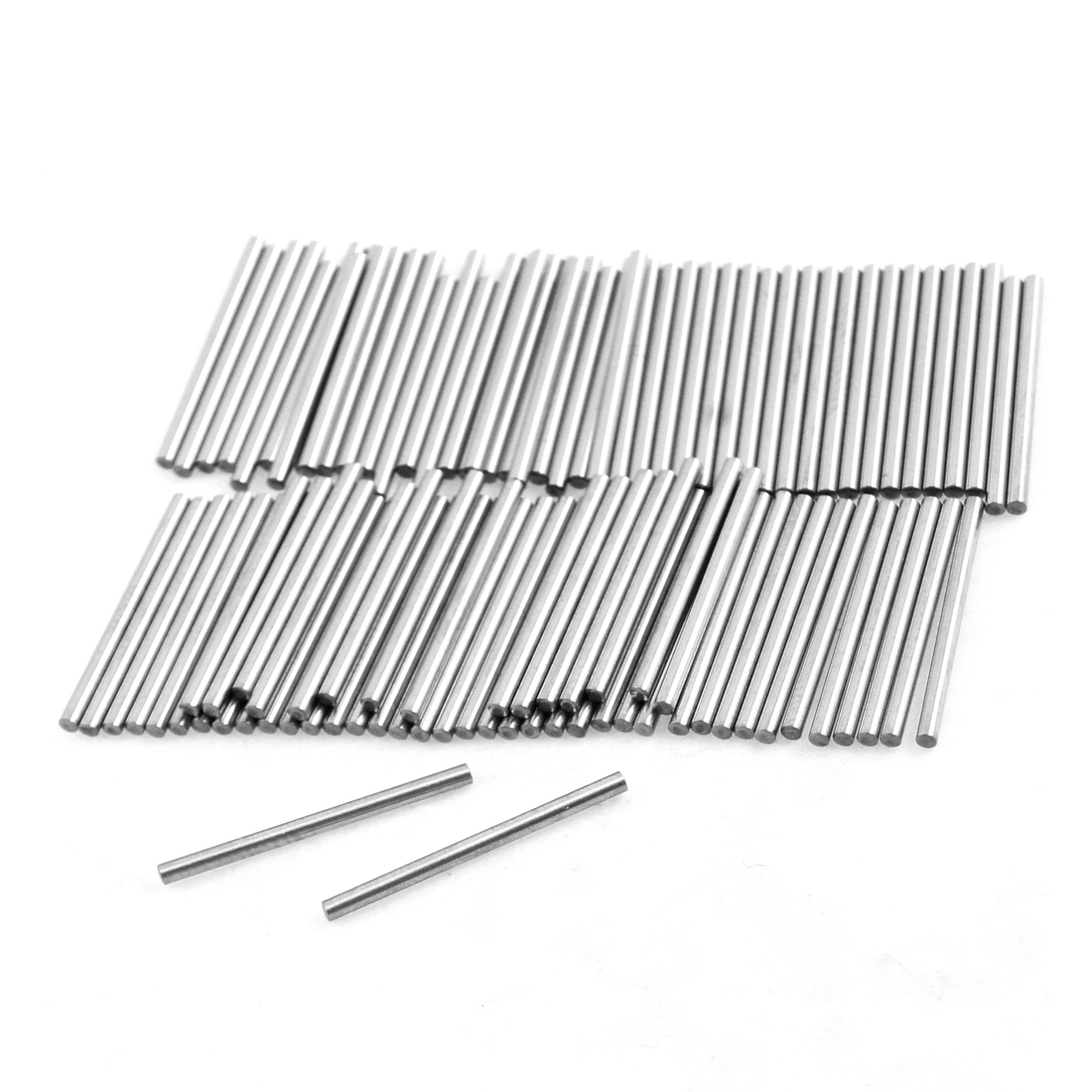 100 Pcs Stainless Steel 1.05mm x 15.8mm Dowel Pins Fasten Elements